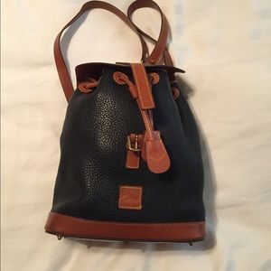 Handbags - Dooney and Bourke leather backpack
